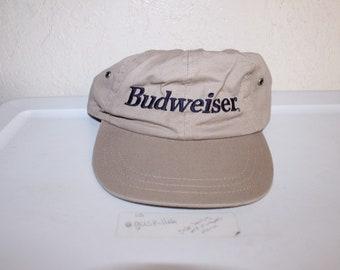 0de35ea8ee13d Vintage 90 s Budweiser Strapback Dad Hat