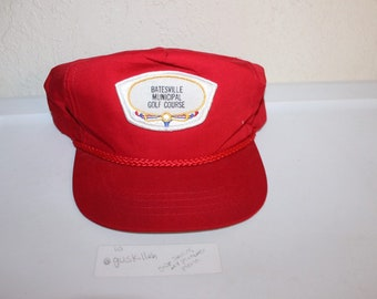 Vintage 90 s Batesville Municipal Golf Course Snapback by TownTalk f75aad2c0c13