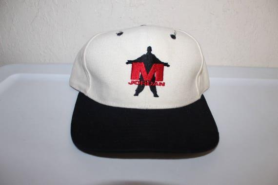 Vintage 90 s Michael Jordan Strapback Dad Hat by AmaPro  22923b8e43e
