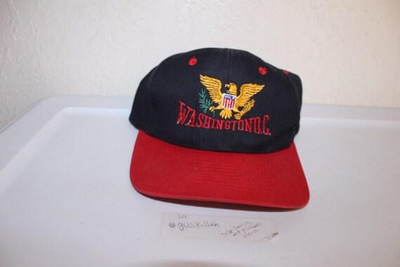 Vintage 90's Washington DC Snapback Hat by KC