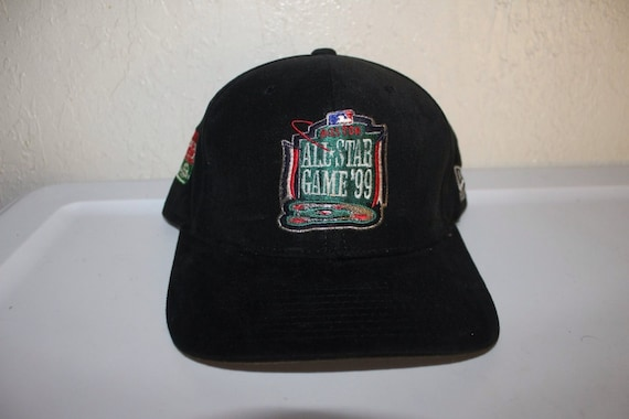 9cfbe6d9000ae Vintage 90 s Boston All Star Strapback Hat by New Era