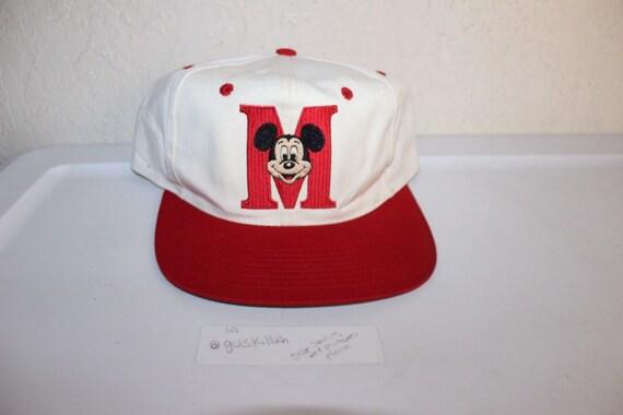 Vintage 90 s Mickey Mouse Snapback by Goofy Hat Inc  82bbf6ab24b