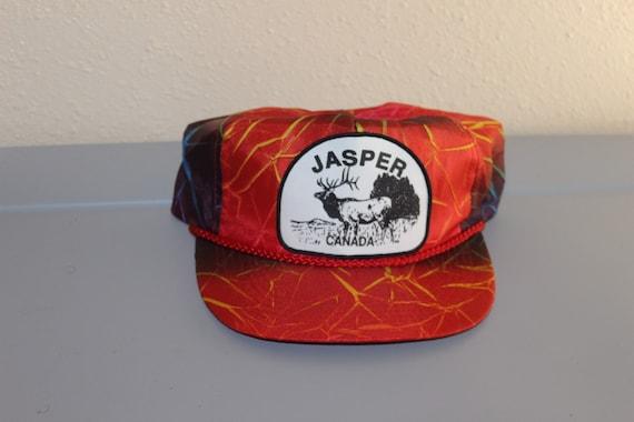 Vintage 90's Jasper Canada Snapback By Quality Spo