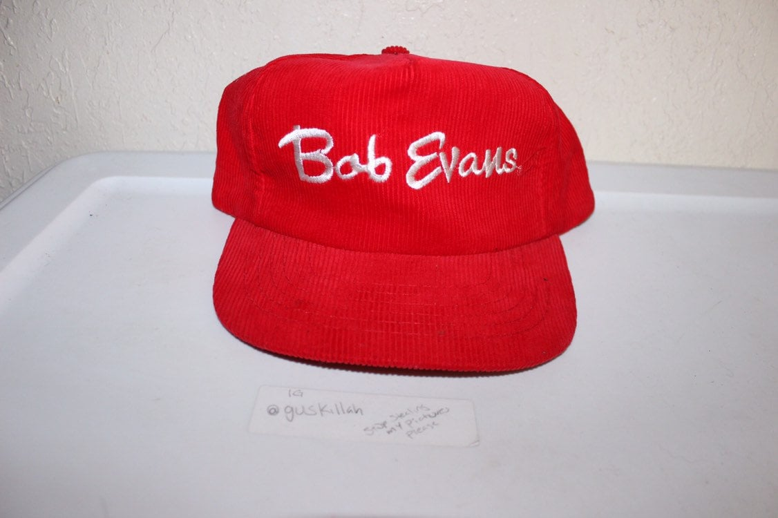 6bb25430fb9 Vintage 90 s Bob Evans Corduroy Snapback By Eire Partners