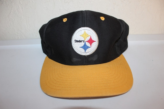 Vintage 90 s Pittsburgh Steelers Snapback by Logo 7  6173c6a24