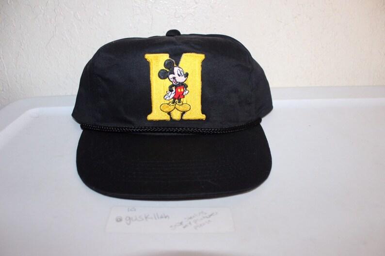 6ef662cbbce17 Vintage 90 s Mickey Mouse Snapback Hat