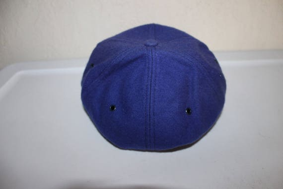 904c9286 Vintage 80's New York Mets Fitted Hat Size XL by FarnHam Hall