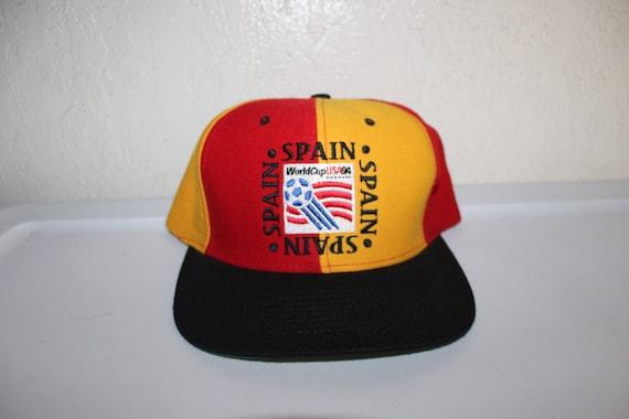 e81fa3b49ee Vintage 1994 USA World Cup Soccer Spain Snapback by Nutmeg