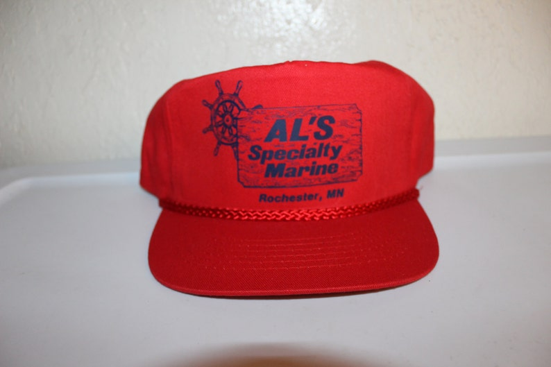09928b0ccb517 Vintage 80 s AL s Specialty Marine Rochester MN