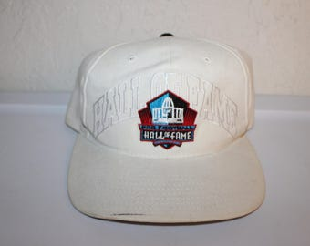 Vintage 90's Pro Football Hall of Fame Canton, OH Baseball Hat by Starter