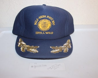 Vintage 90's Mile-High Post 800 Idyllwild Snapback by Wear Guard