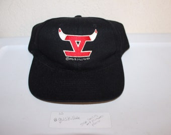 Vintage 90's Chicago Bulls 5th Championship Snapback by Nissun