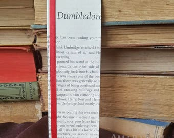 Harry Potter - Dumbledore's Army - Book Page and Ribbon Bookmark
