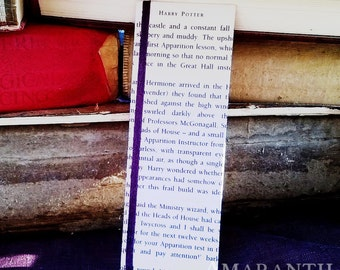Harry Potter - Book Page and Ribbon Bookmark