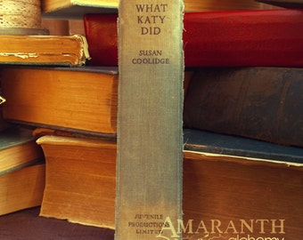 What Katy Did - Book Spine Bookmark