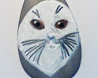 Selkie- Seal Pendant