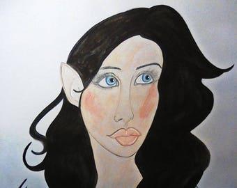 Whispers Of Varda: Arwen Portrait