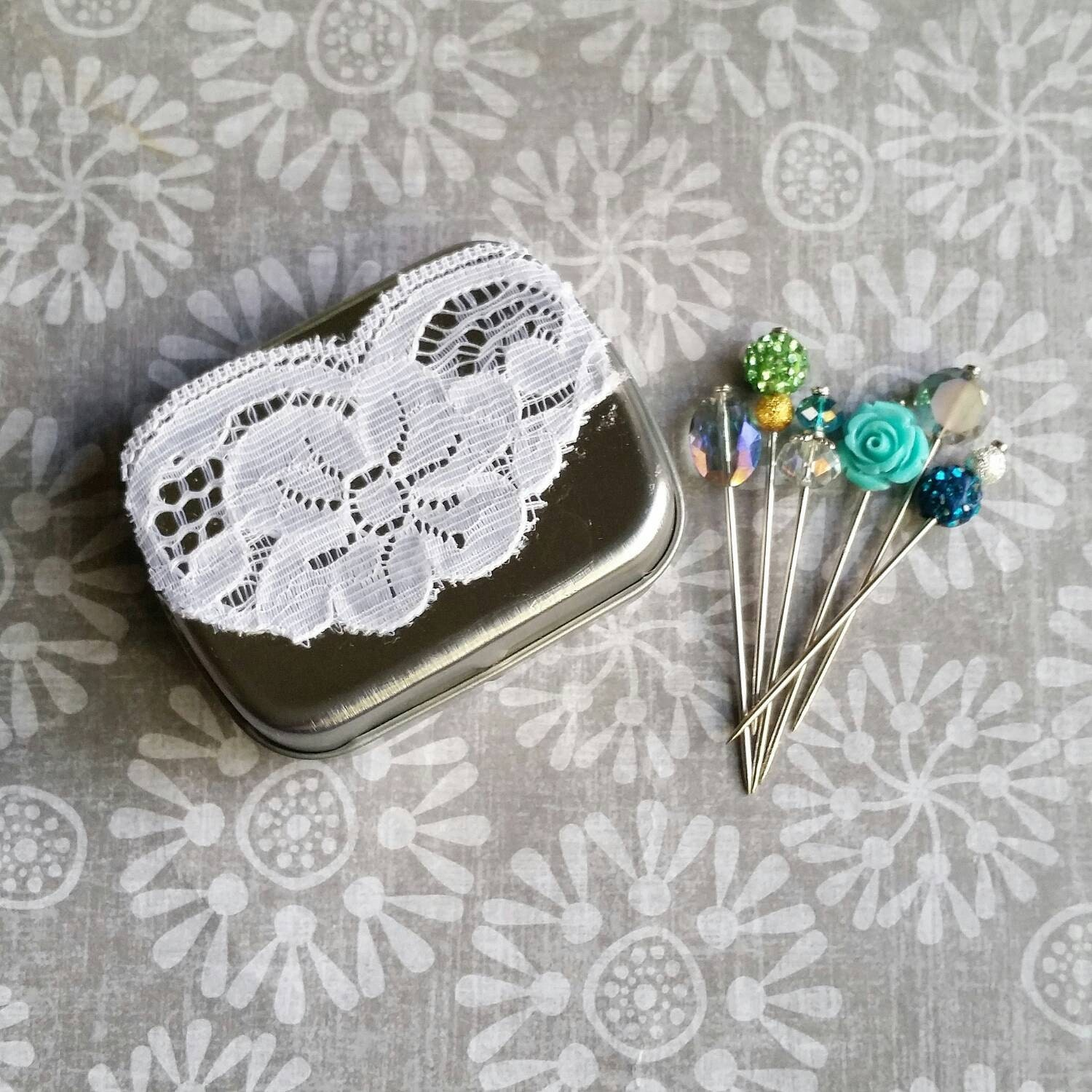 Hijab Pin Travelling Tin Hijab Pin Box Hijab Accessories