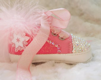 1cc2cd190 Glitter baby shoes