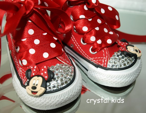 Minnie Bow Tennis Shoes