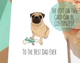 f15f747499586 Pug fathers day card