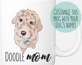 0735292e Golden Doodle Mom Mug   Doodle Dad   Golden Doodle Gifts   Labradoodle Mug    Dog Lover Gifts   Goldendoodle   Fathers Day Gift for Him