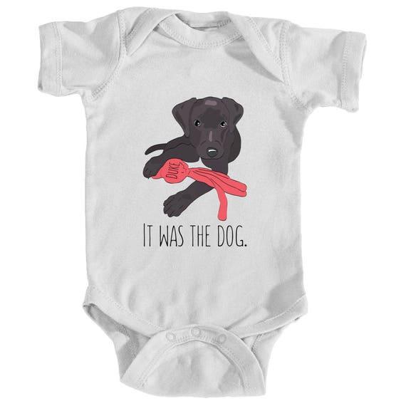 Labrador Bodysuit Labrador Baby Clothes Dog Baby