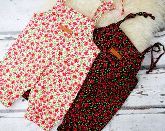 Shorty, summery dungarees, weavingware, different. Versions, 0-3 months