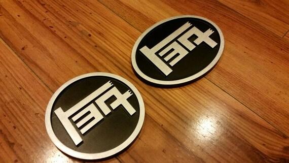 Roundl Aluminum TEQ Badge Universal Black
