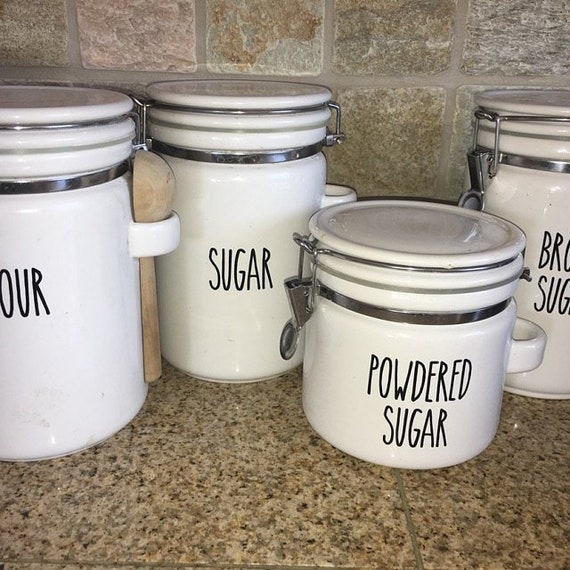canister kitchen kitchen canister decals kitchen canister labels kitchen etsy 492