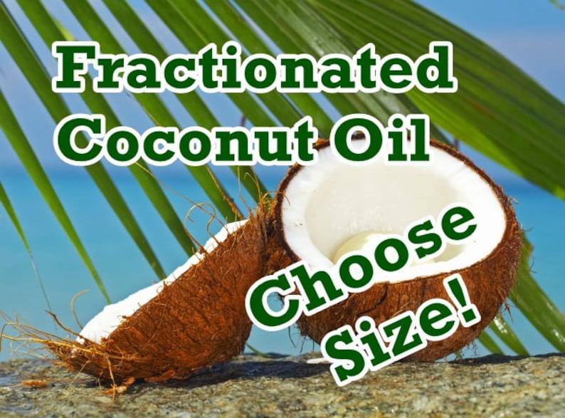 Fractionated COCONUT OIL (MCT), Organic   Bulk Sizes + Fast Free Shipping    Top Shelf - Always Fresh