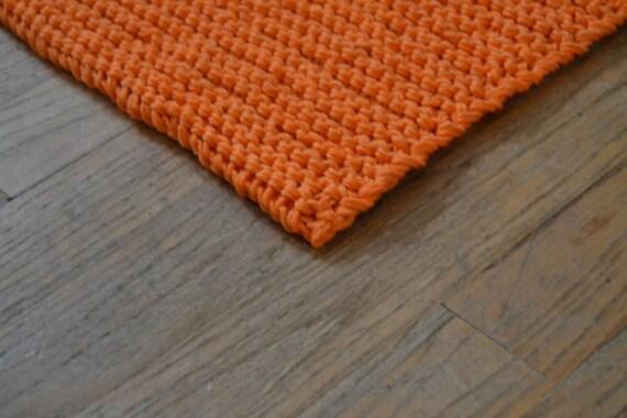 LIVRAISON GRATUITE ! Tapis de bain coton, brun, Orange, écru, gris ...