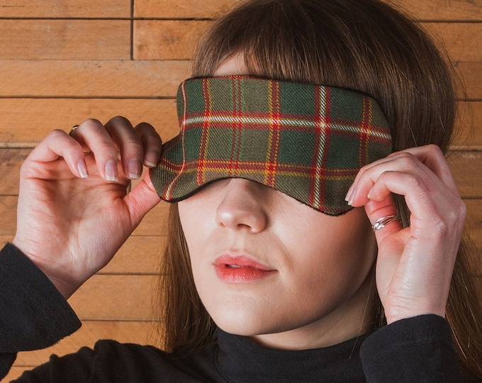 Flodden Commemorative Tartan Scented Herb Eye Mask*Free Shipping*