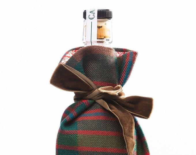 John Muir Way Tartan & Liberty Print Luxury Scottish Bottle Bag