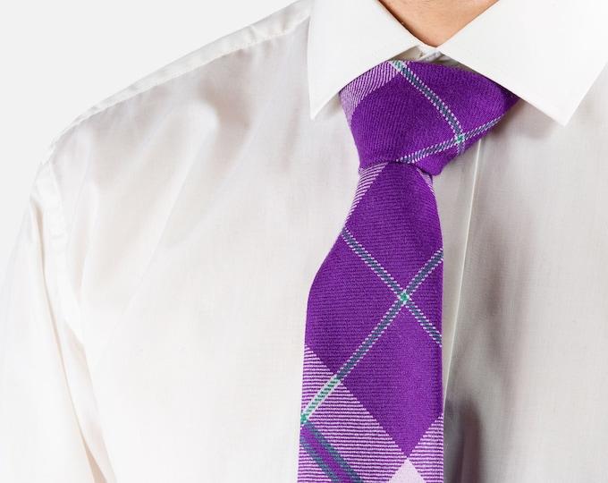 SiMBA Charity Tartan Tie