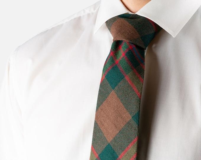 John Muir Way Tartan Tie
