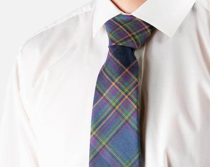 Highland Mist Tartan Tie