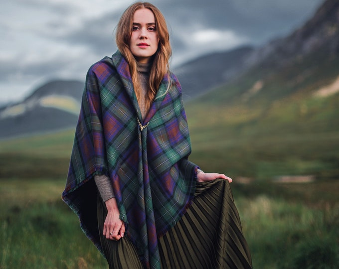 Isle of Skye Tartan Outlandish Shawl *FREE SHIPPING*