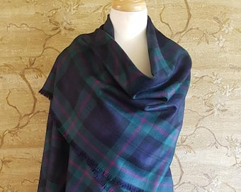 Baird Outlandish Shawl with Optional Clan Fraser Pin Selection *FREE SHIPPING*