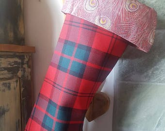Dunbar Tartan Christmas Stocking