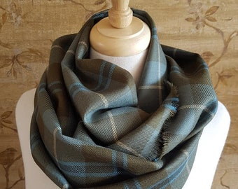 Weathered Douglas Tartan Outlandish Cowl Wrap