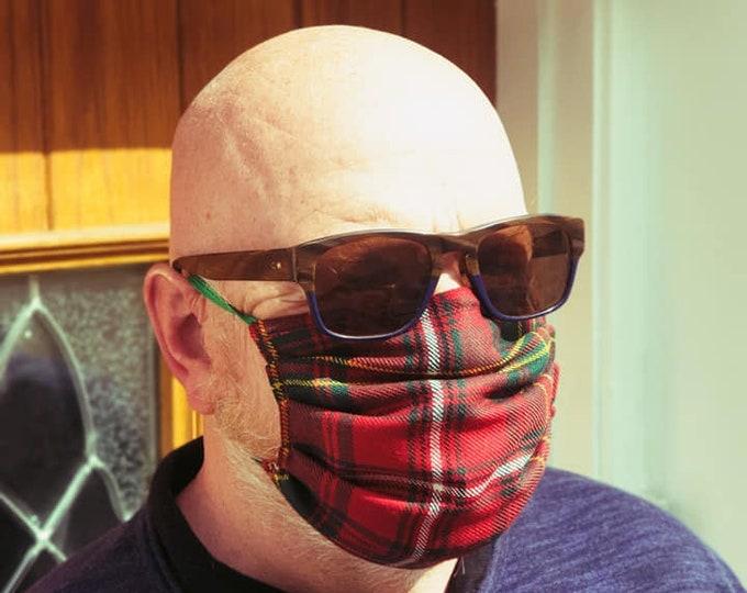 Washable Tartan and Liberty Print Facemask