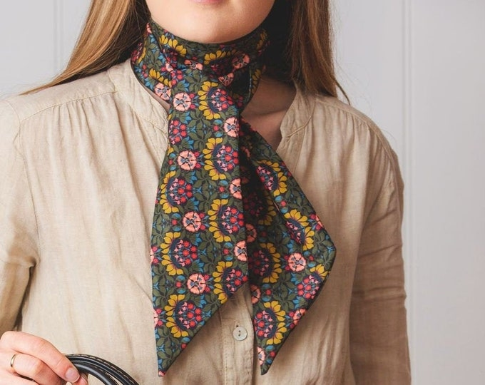 Tana Twilly Scarf in a selection of Liberty Prints