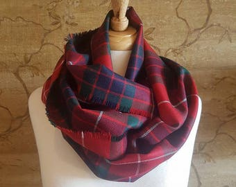 Red Fraser Outlandish Cowl Wrap