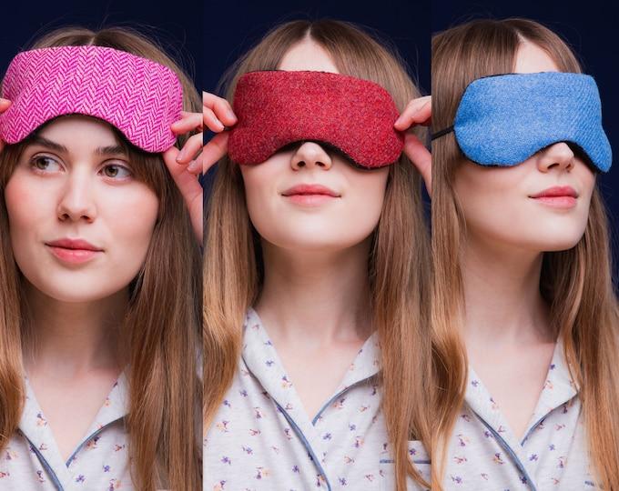 Harris Tweed Herb-Filled Eye Mask *Free Shipping*