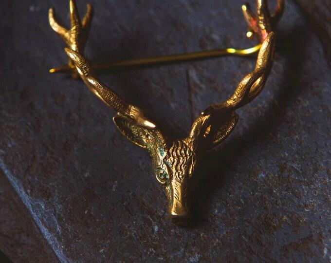 Scottish Stag Pin