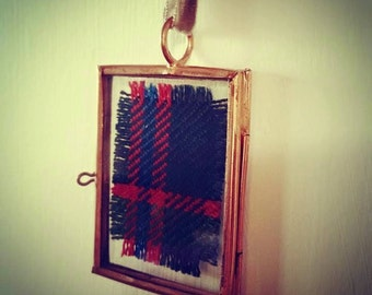 Small John Muir Way Tartan Hanging Momento