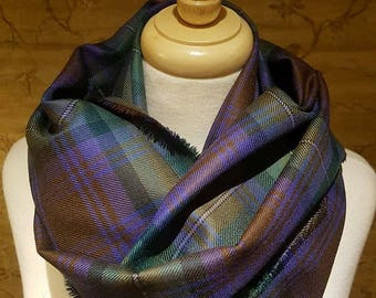 Isle of Skye tartan Outlandish Cowl Wrap