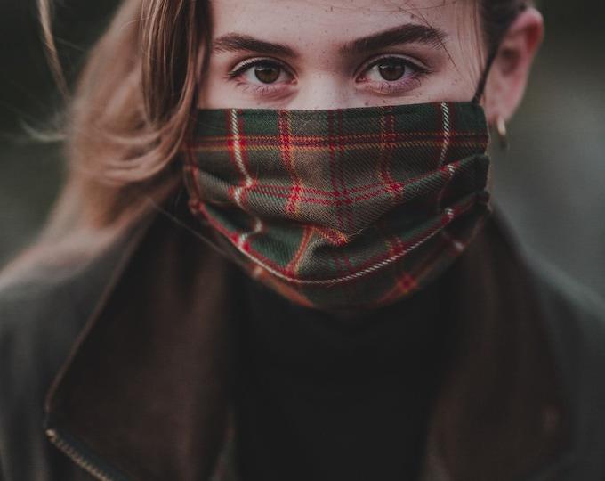 Flodden Tartan 3-Layer Face Mask