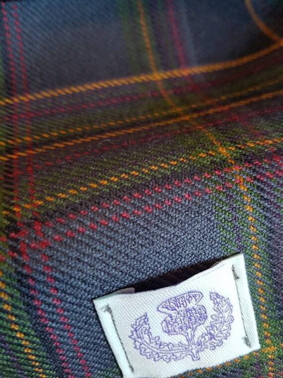 Col Tartan Highland Mist avec doublure en velours Rose Rose   Etsy 7ce48d41e5d